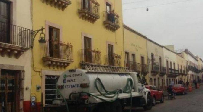 Zacatecas: Reforzarán abasto de agua en hoteles durante Festival (meganoticias)