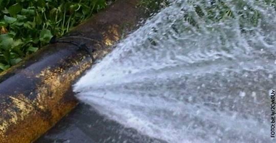 CDMX: 35% de agua de la ciudad se desperdicia por fugas de agua (Gaceta UNAM)
