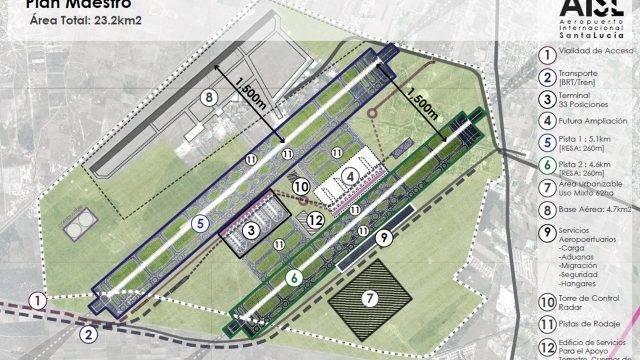 Edomex: Semarnat concluye estudio de impacto ambiental para aeropuerto de Santa Lucía (Forbes)
