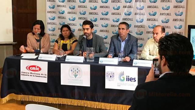 Michoacán: Morelia será sede del Segundo Congreso Nacional de la Asociación Mexicana de Sistemas de Captación de Agua de Lluvia (Mi Morelia)