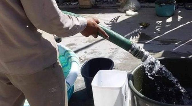 Ciudad Madero: Llevan pipa de agua a 500 familias tras falla en válvula (MILENIO)