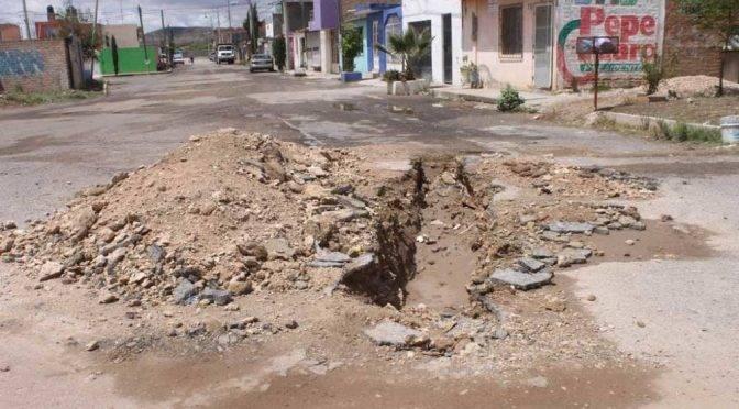 Zacatecas: Culpa Siapasf a constructora por falta de agua potable (NTR)