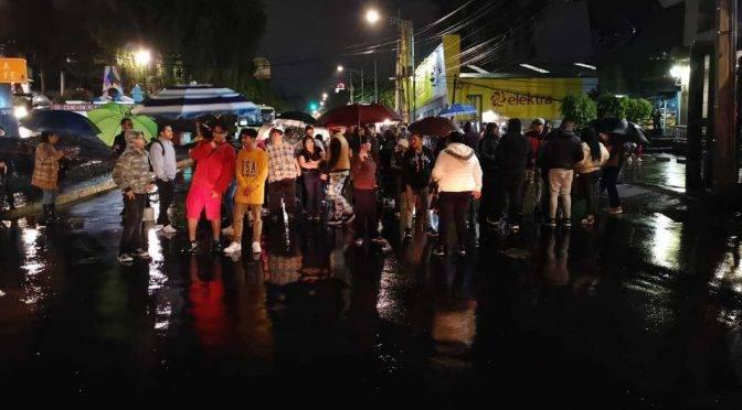 CDMX: Retiran bloqueo en Vasco Quiroga en Santa Fe tras tres horas (MILENIO)
