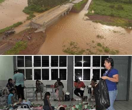 Sinaloa: Miles de afectados por la tormenta Ivo (La jornada)