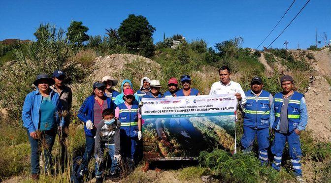 Oaxaca: Actúa Semaedeso para el rescate de los ríos Atoyac y Salado (unnimedios)
