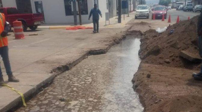 Chihuahua: Cobrará JMAS a Coprofusa $88 mil por fugas de agua (El Heraldo de Chihuahua)