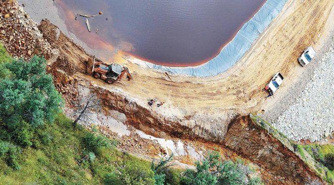 A cinco años, piden reparaciones por contaminación del río Sonora (El Siglo de Torreón)