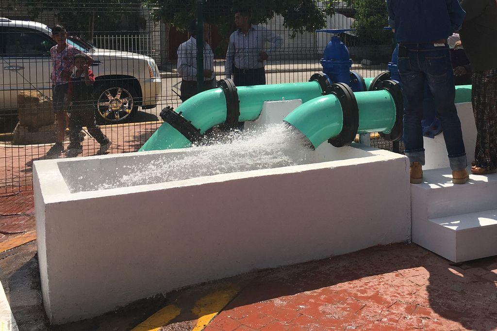 Durango: Resaltan obras de agua en Gómez P. (El Siglo de Durango)