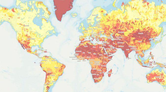 El 'Día Cero' del agua acecha a 17 países, donde vive 1/4 de la población del mundo (El Financiero)