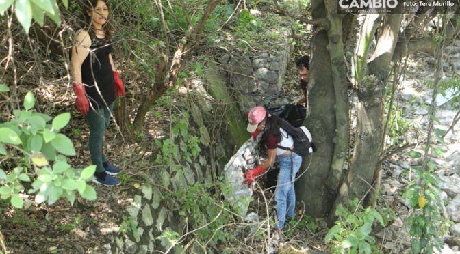 Puebla: Activistas acusan a textileras de contaminar el río San Francisco (Diario Cambio)