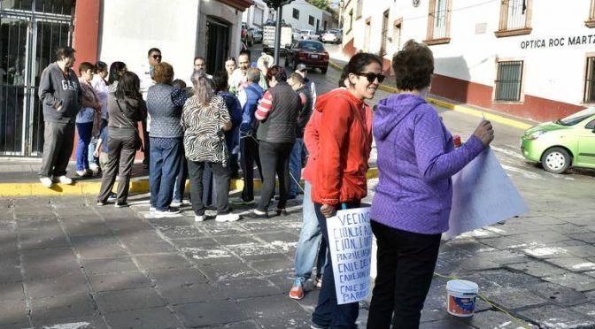 Protestan por el desabasto de agua potable en Zacatecas (El Sol de Zacatecas)