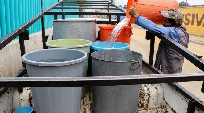 Zacatecas: #Tandeojiapaz Estas 22 colonias tendrán agua en Guadalupe esta tarde (El Sol de Zacatecas)
