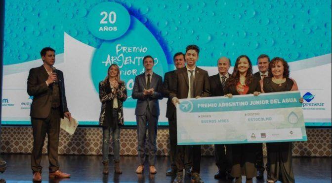 Argentina: AySA celebra los 20 años del Premio Junior del Agua (Política del Sur)