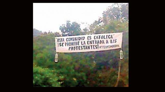 CDMX: Les quitan el agua por ser protestantes, en Huazalingo (Excelsior)