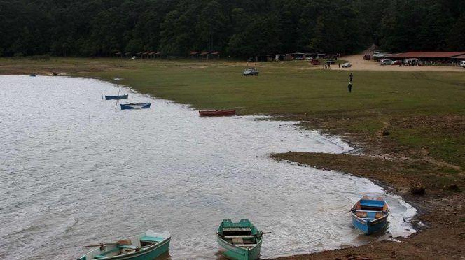 Chiapas:  Lagunas de Montebello se quedan sin agua por cambio climático (Excelsior)