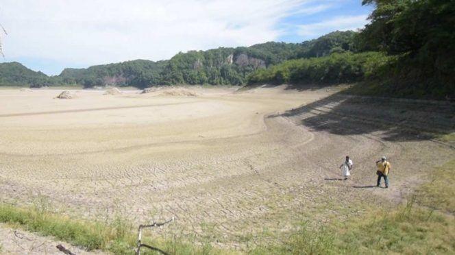 """Chiapas: Se seca la laguna de Metzabok, """"Dios del Trueno"""" (Excelsior)"""