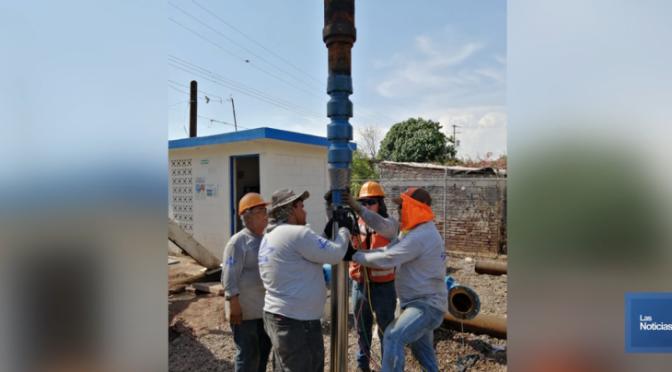 Sonora: instalan en pozo de Pueblo Yaqui nuevo equipo de bombeo (El Imparcial)