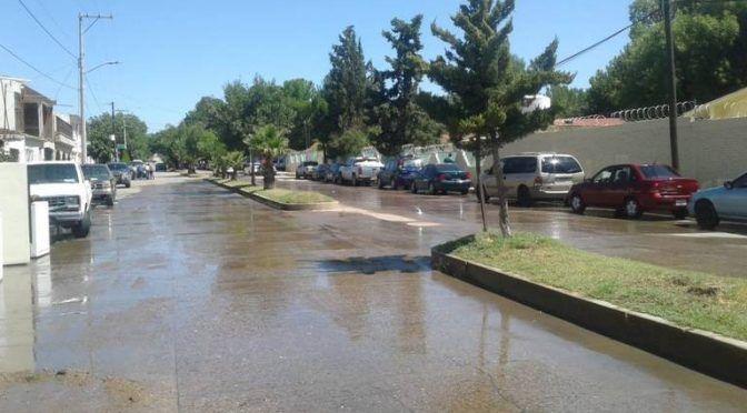 Chihuahua: Fétidos olores por brote de agua en la colonia El Presón (El Sol de Parral)