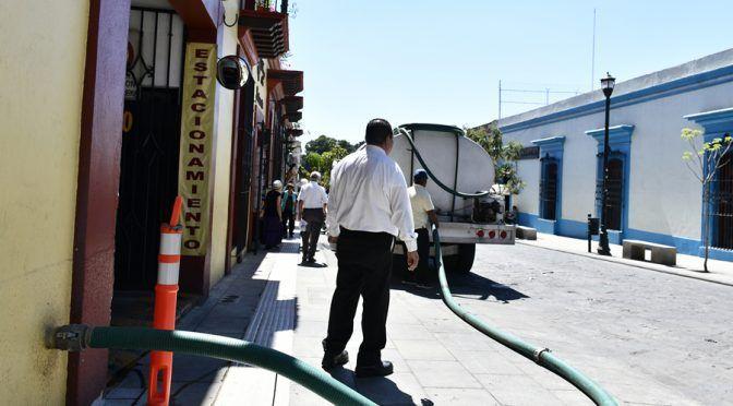 Oaxaca: Hoteles y colonias sin abasto de agua potable (El Imparcial)