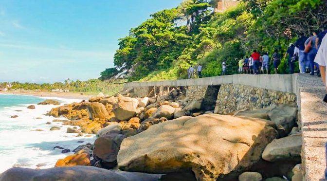 Acapulco: Confirman descargas de aguas negras al mar (El Sol de Acapulco)