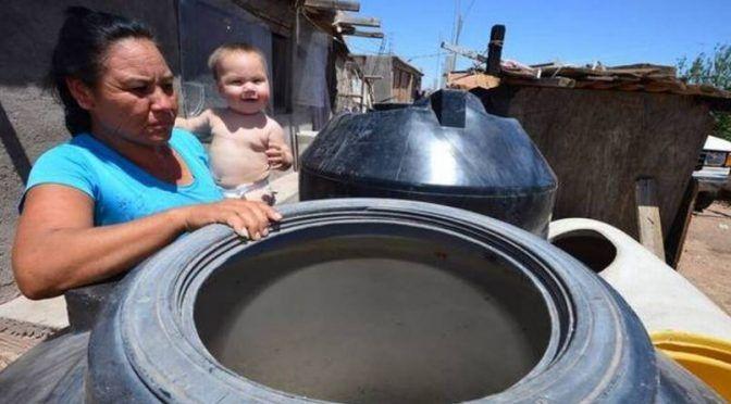 Chihuahua: Cumplen 5 días sin agua en la colonia Mármol (El Heraldo de Chihuahua)