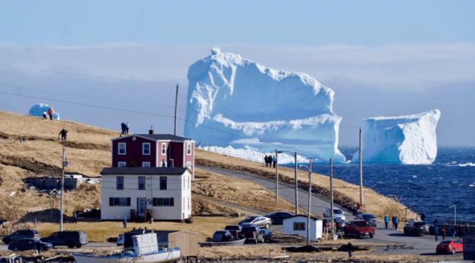 Canadá: Los cazadores de icebergs viven tiempos de abundancia (AFP)