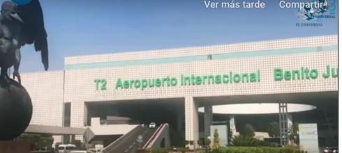 CDMX: Sequía en aeropuerto; se abastece con pipas (El Universal)