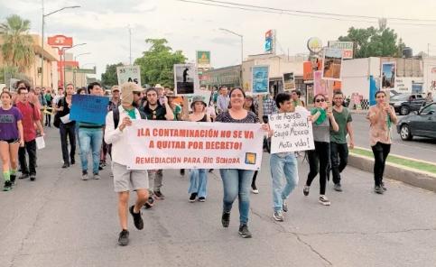 Hermosillo: Exigen recuperación de río Sonora y cierre de concesión minera (El Universal)