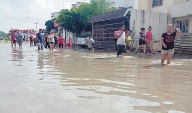 Zacatecas: Registran inundaciones en Fresnillo, por lluvias intensas (El universal)