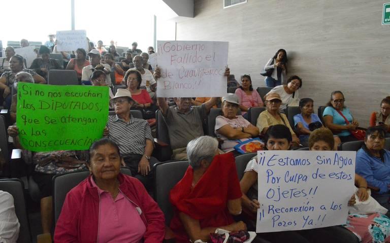 Morelos: Hasta los diputados se quedan sin agua (El Sol de Cuautla)