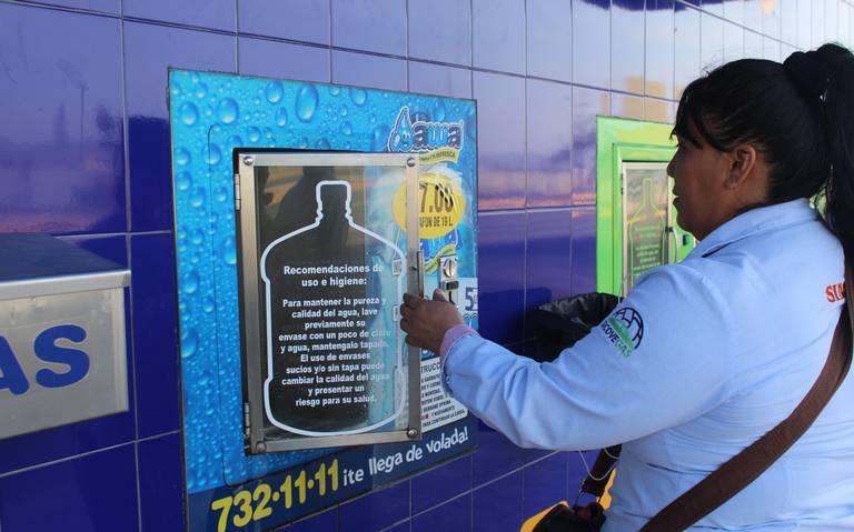 Coahuila: En dos años ha aumentado un 30% las máquinas expendedoras de agua purificada en Torreón (Noticias de el Sol de La Laguna)