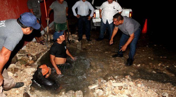 Se tiran 650 mil litros de agua en el norte de Mérida: multarían a la empresa (Diario de Yucatán)