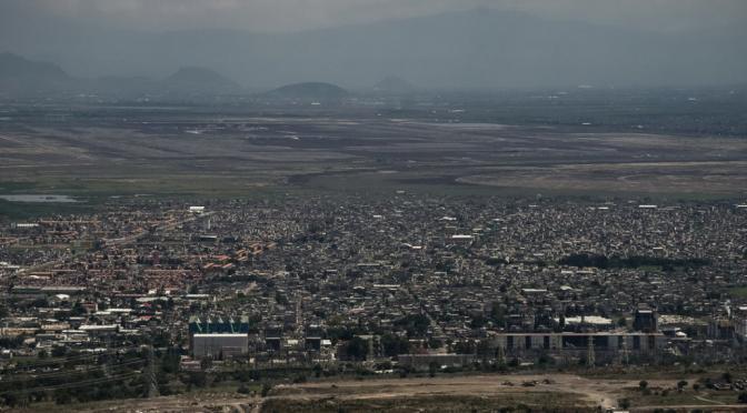 Edomex: Lanzan defensa comunitaria contra Santa Lucía (Chiapas paralelo)