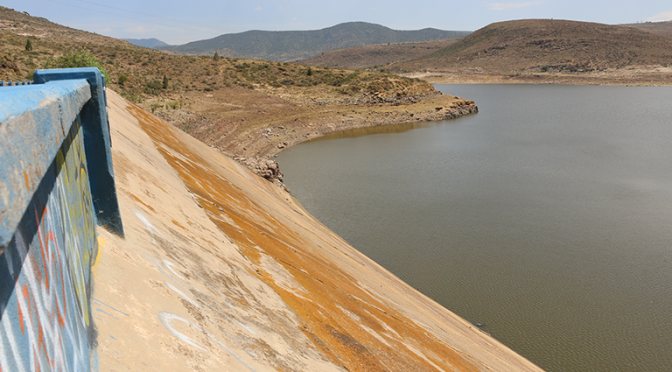 San Luis Potosí: por la canícula, se vacían las presas en el estado (El Sol de San Luis)