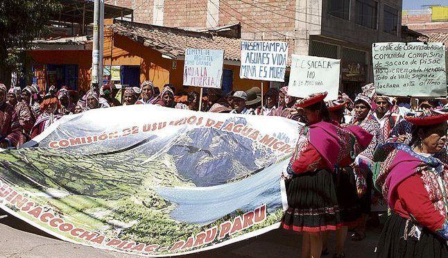 Perú: Concesión minera pone en riesgo de contaminación a cuatro lagunas en Písac (La República)