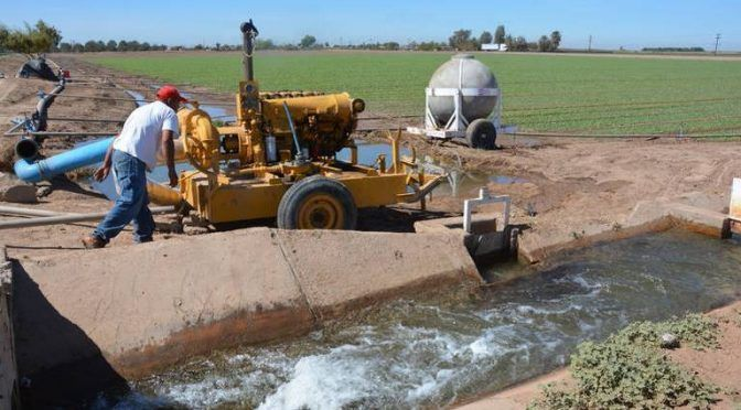 Baja California: Definirá Conagua cuánto recortan de agua a módulos de riego (La voz de la frontera)
