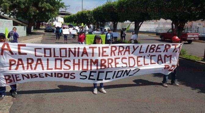 Veracruz: Se manifiestan colonos por falta de agua potable (El Sol de Córdoba)