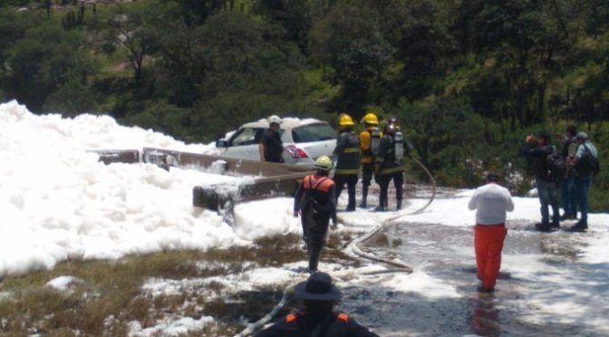 Concesionaria de agua en Puebla rechaza ser la generadora de espuma tóxica en Valsequillo (Proceso)