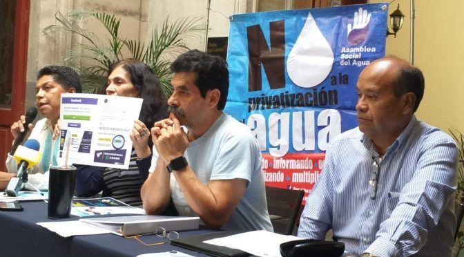 ASA: Puebla puede ganar controversia internacional del agua, pues es un derecho humano y no comercial (La Jornada de Oriente)