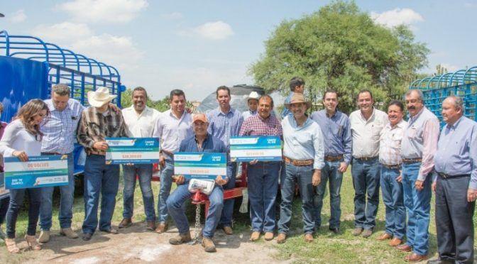 Impulsa Gobierno del Estado de Aguascalientes proyectos hídricos para frenar sequías (La Jornada Aguascalientes)