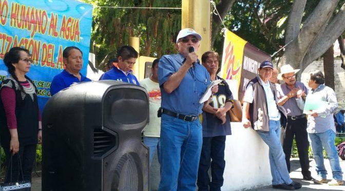 Puebla: Confían activistas en que el congreso pare los cortes de agua hechos por concesiones integrales (La jornada de Oriente)