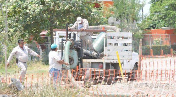 Tampico: Daño en tubería deja sin agua amplio sector norte de Madero (El Sol de Tampico)