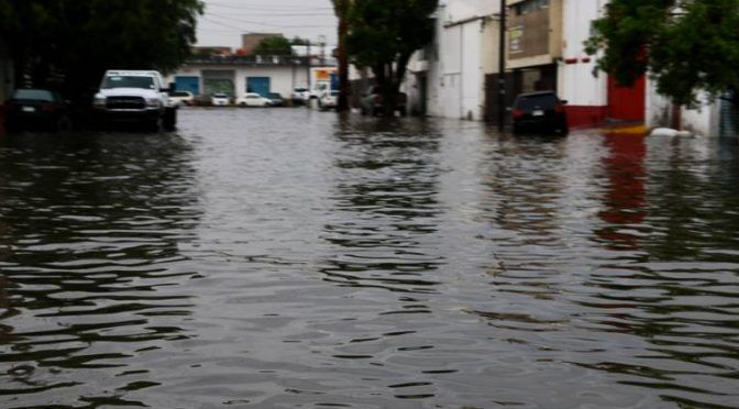 San Luis Potosí: El 30% de la ciudad en riesgo de inundación (El Sol de San Luis)