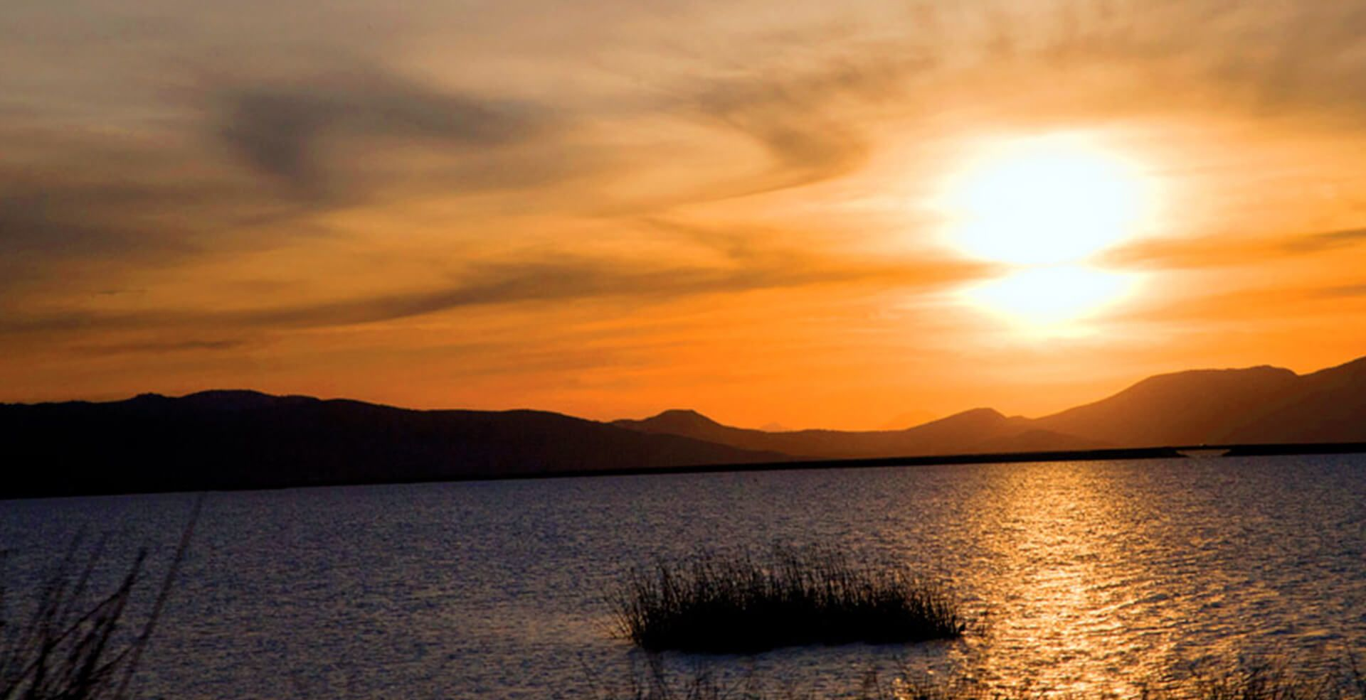 Uno de los lagos de Michoacán más grandes es el Lago de Cuitzeo.