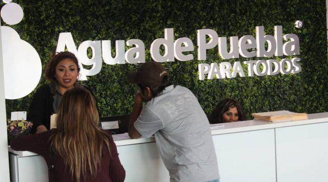Se niega Agua de Puebla a reducir tarifas de servicio (El Sol de Puebla)