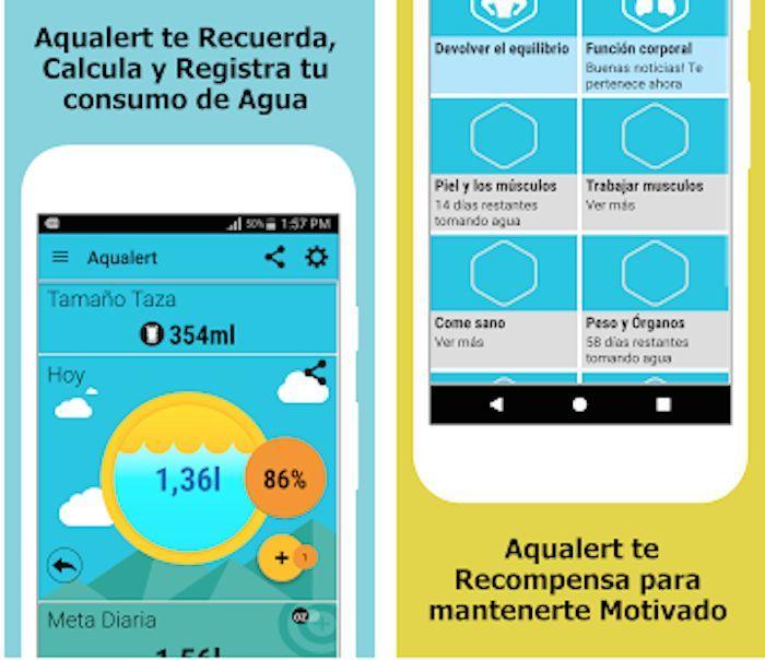 Cinco apps que te ayudan a beber la cantidad de agua idónea (Sin Embargo)