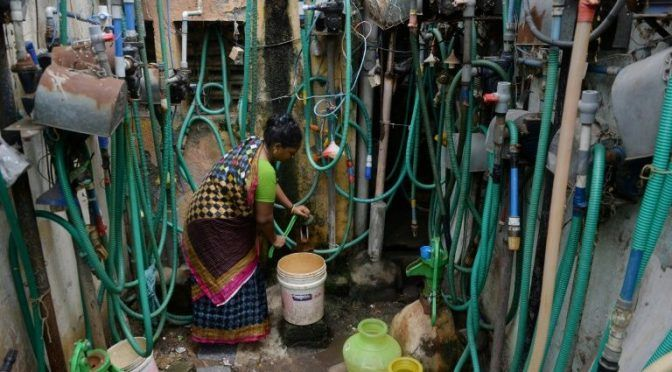 Una cuarta parte de la población mundial enfrenta estrés hídrico extremo (AFP)