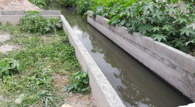 San Luis Potosí: tras años denunciando malos olores, reparan el canal de aguas negras en Cantagua (El Sol de San Luis)