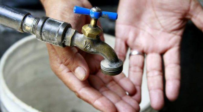 En Ciudad Victoria 140 colonias sin agua (Milenio)