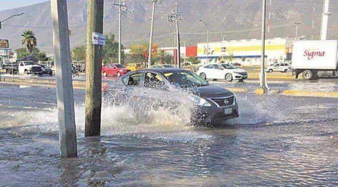Nuevo León: Ooootra macro fuga y desabasto de agua (El Horizonte)